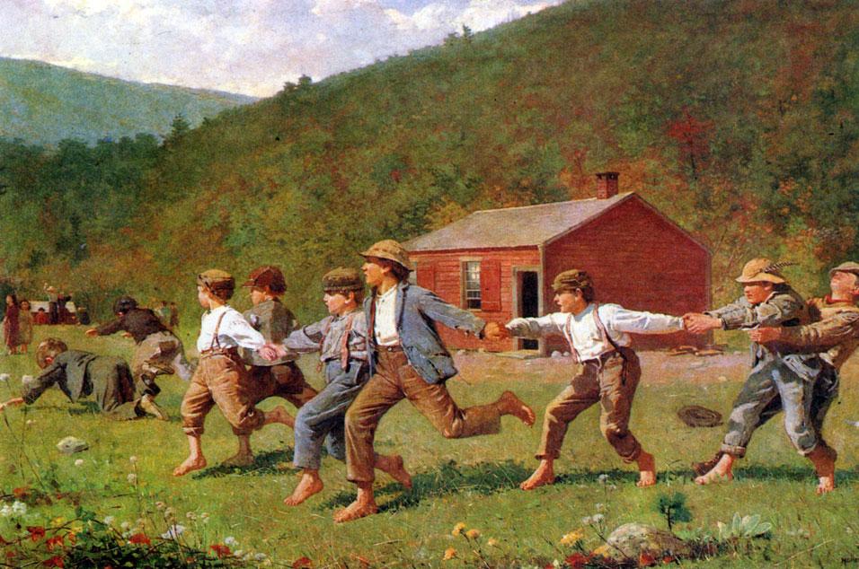Уинслоу хомер играющие дети 1872